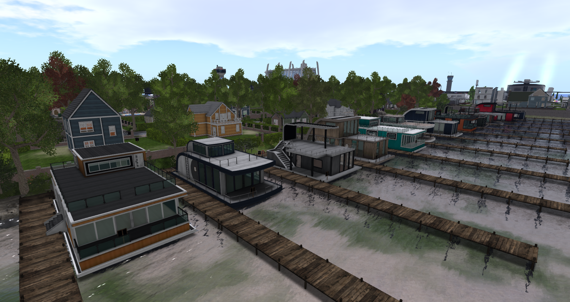Linden Lab Offers a Preview of the New Linden Homes in Second Life